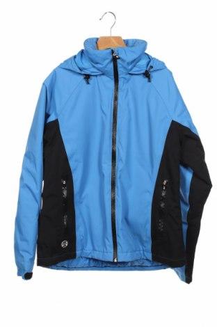 Дамско спортно яке Lands' End, Размер XS, Цвят Син, 100% полиамид, Цена 14,50лв.
