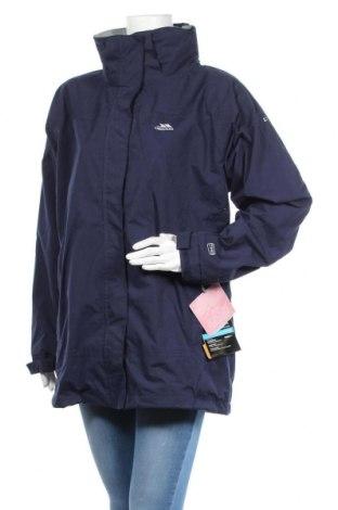 Дамско спортно яке Trespass, Размер XL, Цвят Син, 100% полиестер, Цена 65,40лв.