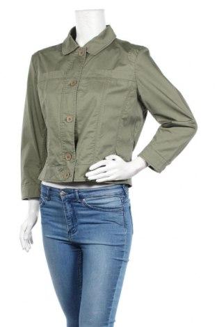 Дамско яке 313 Tre Uno Tre, Размер XL, Цвят Зелен, 98% памук, 2% еластан, Цена 10,80лв.