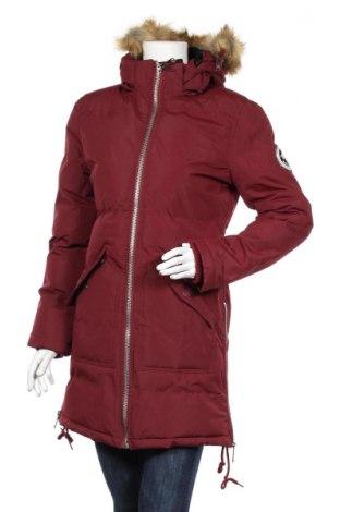 Dámska bunda  Geographical Norway, Veľkosť L, Farba Červená, Polyester, Cena  112,89€