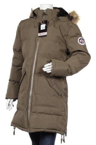 Dámska bunda  Geographical Norway, Veľkosť S, Farba Zelená, Polyester, Cena  112,89€