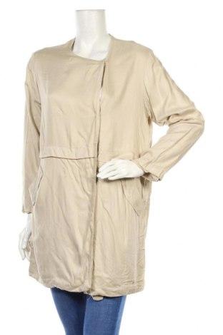 Дамско яке Pull&Bear, Размер S, Цвят Бежов, Вискоза, Цена 42,00лв.