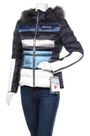 Γυναίκειο μπουφάν για χειμερινά σπορ Nevica, Μέγεθος S, Χρώμα Μπλέ, 60% πολυεστέρας, 40% πολυαμίδη, Τιμή 118,04€