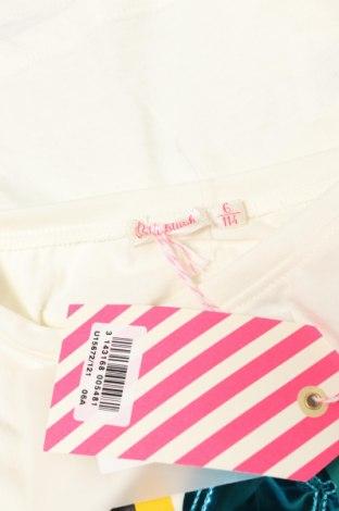 Детска блуза Billieblush, Размер 5-6y/ 116-122 см, Цвят Екрю, 65% полиестер, 35% памук, Цена 21,42лв.