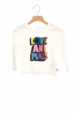 Детска блуза Billieblush, Размер 2-3y/ 98-104 см, Цвят Бежов, 65% полиестер, 35% памук, Цена 21,42лв.