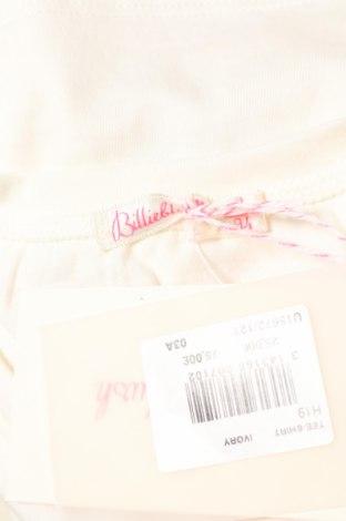 Детска блуза Billieblush, Размер 2-3y/ 98-104 см, Цвят Бежов, 65% полиестер, 35% памук, Цена 17,00лв.
