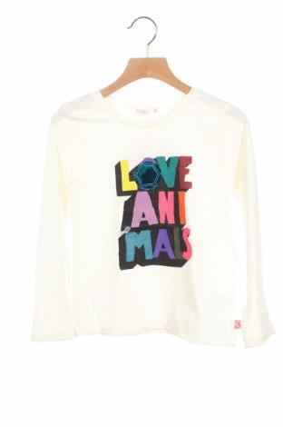 Детска блуза Billieblush, Размер 7-8y/ 128-134 см, Цвят Екрю, 65% полиестер, 35% памук, Цена 21,42лв.