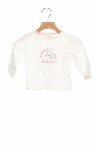 Детска блуза Crafted, Размер 6-9m/ 68-74 см, Цвят Бял, Памук, Цена 26,25лв.