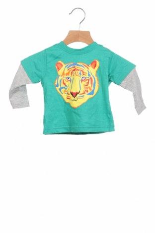 Детска блуза Crafted, Размер 6-9m/ 68-74 см, Цвят Зелен, 60% памук, 40% полиестер, Цена 19,80лв.