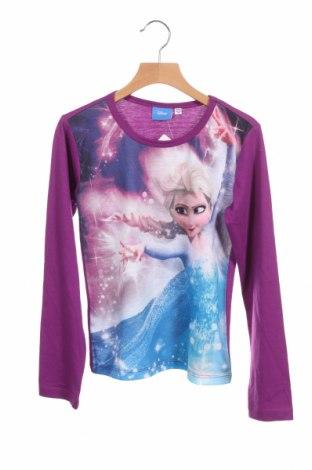 Детска блуза Disney, Размер 8-9y/ 134-140 см, Цвят Лилав, Полиестер, Цена 23,12лв.