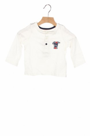 Детска блуза Du Pareil Au Meme, Размер 12-18m/ 80-86 см, Цвят Бял, Памук, Цена 18,00лв.