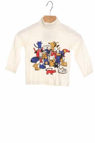 Детска блуза Du Pareil Au Meme, Размер 12-18m/ 80-86 см, Цвят Екрю, Памук, Цена 17,00лв.
