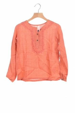 Детска блуза Gocco, Размер 7-8y/ 128-134 см, Цвят Розов, Памук, Цена 19,80лв.