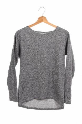 Детска блуза H&M, Размер 14-15y/ 168-170 см, Цвят Сив, 80% памук, 20% полиестер, Цена 3,68лв.