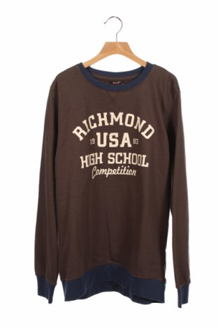 Детска блуза H.i.s, Размер 13-14y/ 164-168 см, Цвят Кафяв, Памук, Цена 10,08лв.