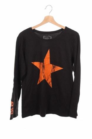 Детска блуза Hanes, Размер 15-18y/ 170-176 см, Цвят Черен, Памук, Цена 4,20лв.