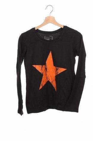 Детска блуза Hanes, Размер 10-11y/ 146-152 см, Цвят Черен, Памук, Цена 9,24лв.