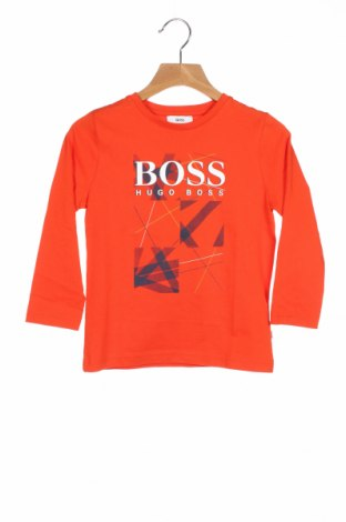 Παιδική μπλούζα Hugo Boss, Μέγεθος 2-3y/ 98-104 εκ., Χρώμα Πορτοκαλί, Βαμβάκι, Τιμή 34,41€