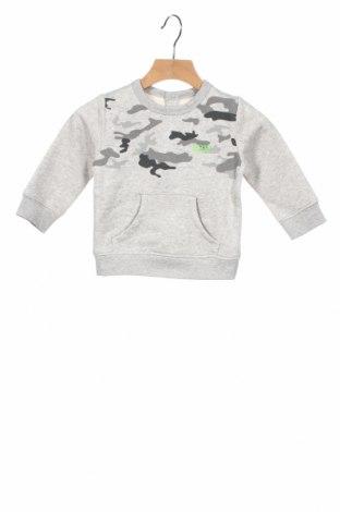 Παιδική μπλούζα Hugo Boss, Μέγεθος 12-18m/ 80-86 εκ., Χρώμα Γκρί, 87% βαμβάκι, 13% πολυεστέρας, Τιμή 34,41€