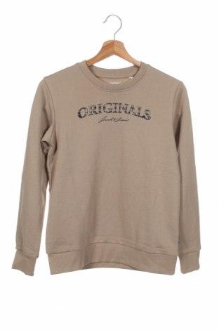 Детска блуза Jack & Jones, Размер 10-11y/ 146-152 см, Цвят Бежов, 65% полиестер, 35% памук, Цена 33,32лв.