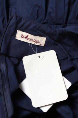 Детска блуза La Ormiga, Размер 15-18y/ 170-176 см, Цвят Син, Памук, Цена 24,48лв.