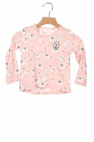 Детска блуза Lefties, Размер 9-12m/ 74-80 см, Цвят Розов, 100% памук, Цена 27,00лв.