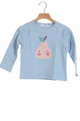 Детска блуза Little Celebs, Размер 3-4y/ 104-110 см, Цвят Син, 96% памук, 4% еластан, Цена 25,20лв.