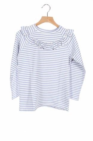 Детска блуза Little Celebs, Размер 7-8y/ 128-134 см, Цвят Бял, 61% памук, 35% полиестер, 4% еластан, Цена 19,25лв.