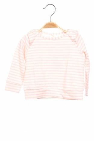 Детска блуза Little Celebs, Размер 6-9m/ 68-74 см, Цвят Бял, 61% памук, 35% полиестер, 4% еластан, Цена 24,48лв.