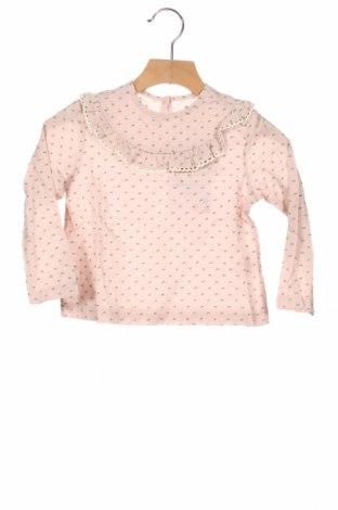 Детска блуза Little Celebs, Размер 2-3y/ 98-104 см, Цвят Розов, 100% памук, Цена 24,48лв.
