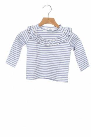 Детска блуза Little Celebs, Размер 9-12m/ 74-80 см, Цвят Бял, 61% памук, 35% полиестер, 4% еластан, Цена 19,25лв.