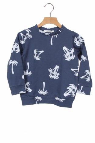 Детска блуза Little Celebs, Размер 3-4y/ 104-110 см, Цвят Син, 96% памук, 4% еластан, Цена 18,00лв.