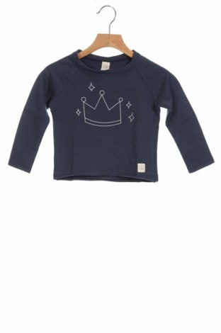 Детска блуза Little Celebs, Размер 18-24m/ 86-98 см, Цвят Син, 96% памук, 4% еластан, Цена 18,00лв.