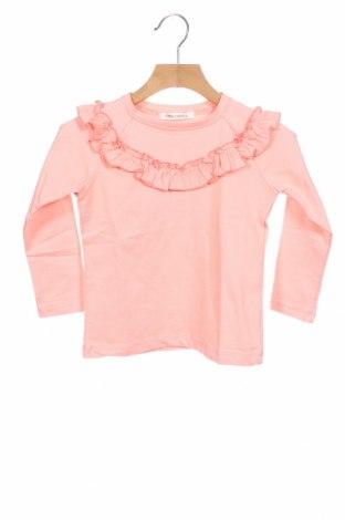 Детска блуза Little Celebs, Размер 2-3y/ 98-104 см, Цвят Розов, 96% памук, 4% еластан, Цена 21,60лв.