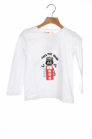 Детска блуза Loudes, Размер 4-5y/ 110-116 см, Цвят Бял, Цена 25,50лв.