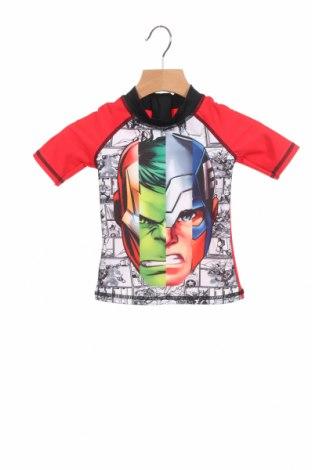 Детска блуза Marvel, Размер 18-24m/ 86-98 см, Цвят Червен, 82% полиамид, 18% еластан, Цена 24,48лв.
