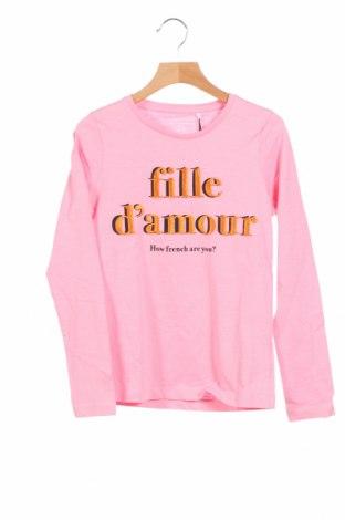 Детска блуза Name It, Размер 8-9y/ 134-140 см, Цвят Розов, Памук, Цена 17,50лв.