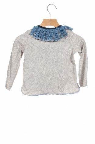 Детска блуза Nanos, Размер 2-3y/ 98-104 см, Цвят Сив, Памук, Цена 49,77лв.