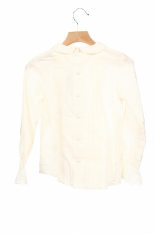 Детска блуза Neck & Neck, Размер 6-7y/ 122-128 см, Цвят Екрю, Памук, Цена 40,12лв.