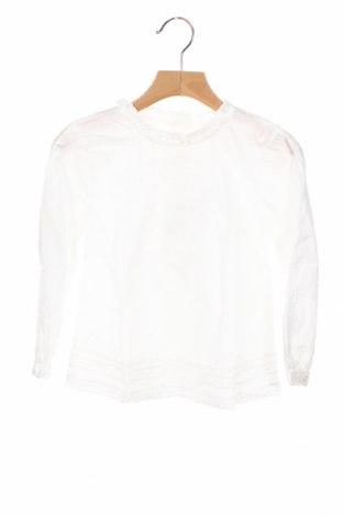 Детска блуза Neck & Neck, Размер 4-5y/ 110-116 см, Цвят Бял, Памук, Цена 42,48лв.