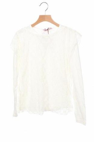 Детска блуза Oviesse, Размер 11-12y/ 152-158 см, Цвят Бял, 95% памук, 5% еластан, Цена 25,50лв.