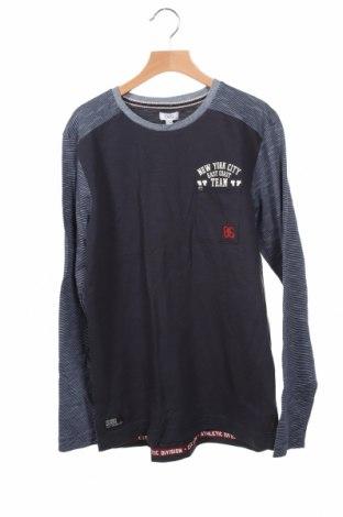 Детска блуза Oviesse, Размер 13-14y/ 164-168 см, Цвят Син, 100% памук, Цена 23,12лв.