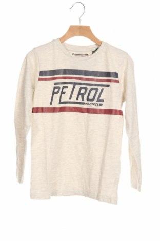 Детска блуза Petrol Industries, Размер 7-8y/ 128-134 см, Цвят Сив, 99% памук, 1% вискоза, Цена 23,80лв.