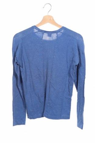 Детска блуза S.Oliver, Размер 10-11y/ 146-152 см, Цвят Син, 100% памук, Цена 22,80лв.
