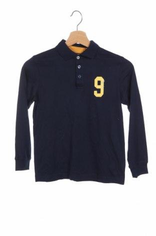 Детска блуза Tex, Размер 7-8y/ 128-134 см, Цвят Син, Памук, Цена 16,90лв.