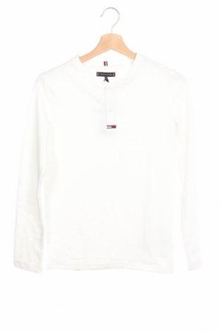 Детска блуза Tommy Hilfiger, Размер 10-11y/ 146-152 см, Цвят Бял, 60% памук, 40% полиестер, Цена 55,30лв.
