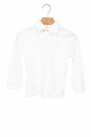 Детска блуза Tutto Piccolo, Размер 18-24m/ 86-98 см, Цвят Бял, Памук, Цена 19,80лв.