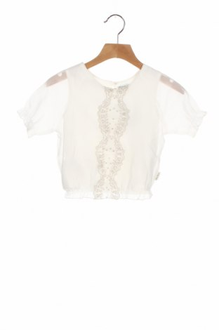 Детска блуза Tutto Piccolo, Размер 3-4y/ 104-110 см, Цвят Бял, 100% полиестер, Цена 10,56лв.