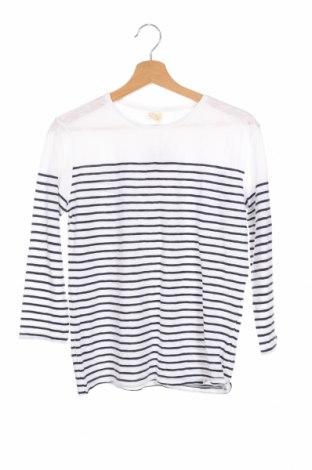 Детска блуза Zara, Размер 13-14y/ 164-168 см, Цвят Бял, Цена 21,84лв.
