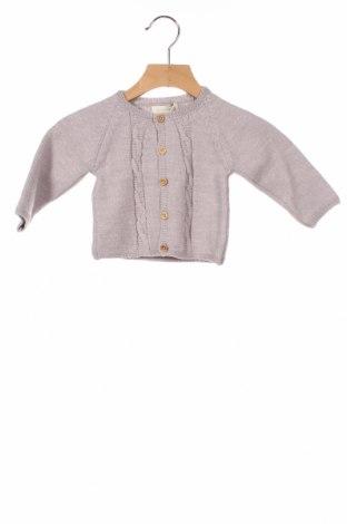 Παιδική ζακέτα Bonnet A Pompon, Μέγεθος 6-9m/ 68-74 εκ., Χρώμα Βιολετί, 50% μαλλί, 50%ακρυλικό, Τιμή 25,26€